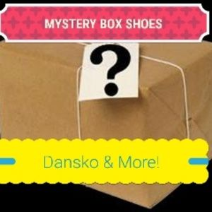 Resellers Mystery Five Shoes Box